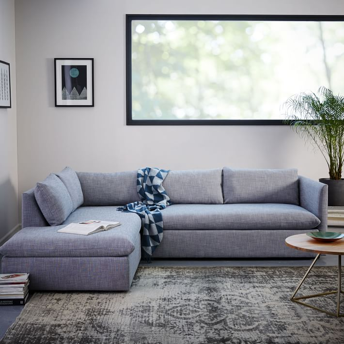 Shelter Set 1- Left Arm Sofa, Right Arm Terminal Chaise
