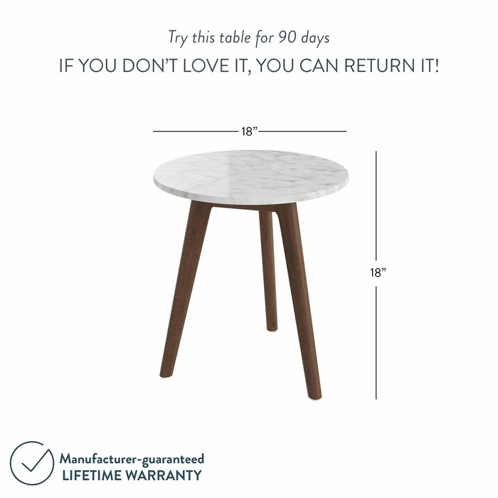 Drubin End Table - Antique Coffee