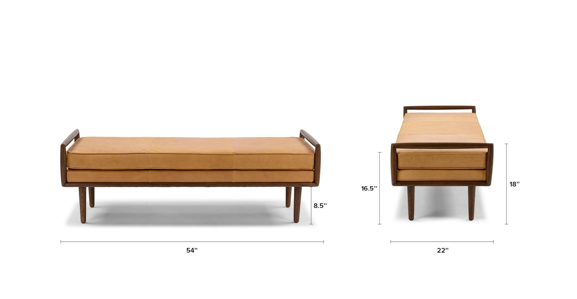 Ansa Charme Tan Bench