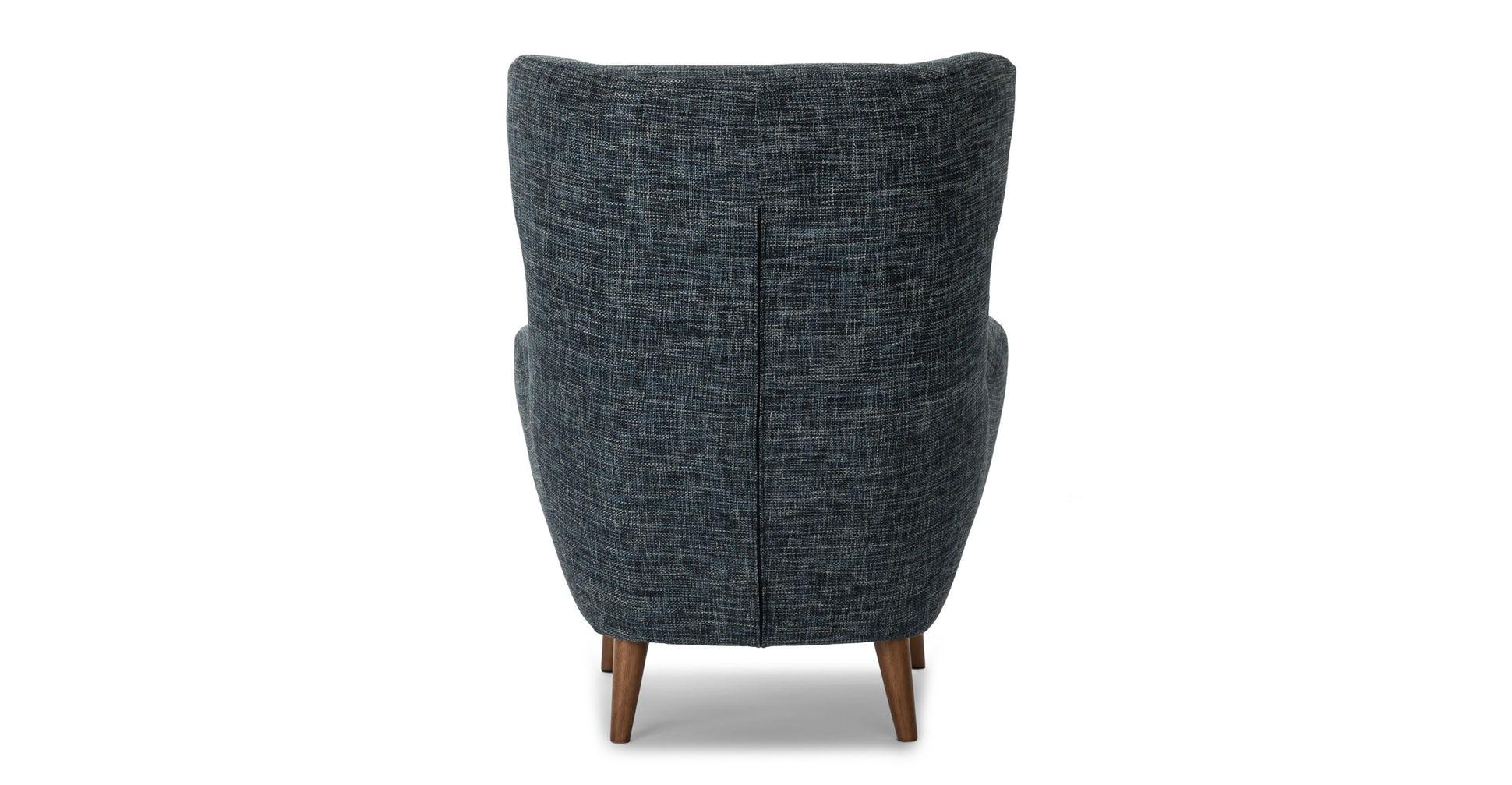 Mod Blue Berry Armchair