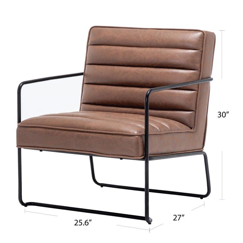 Pedrick Horizontal Channel Armchair