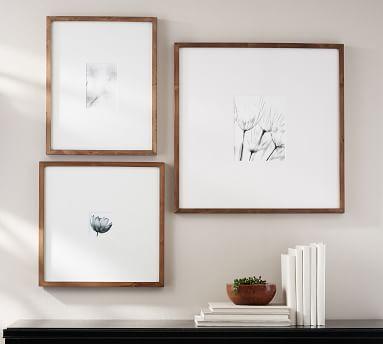 Wood Gallery Oversized, 25x25 - Black
