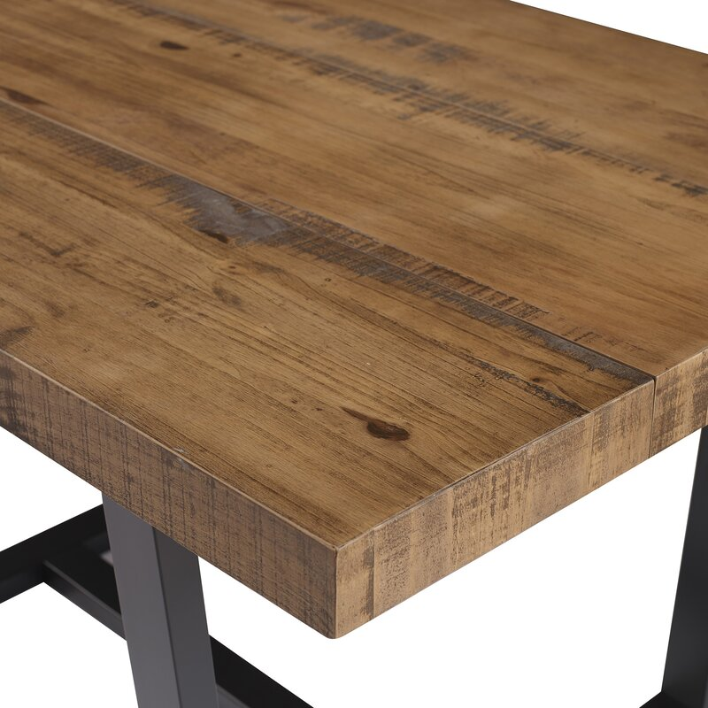 Minerva Pine Solid Wood Dining Table