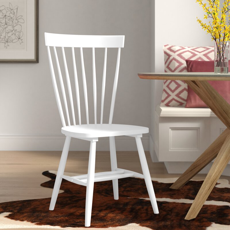 Valdosta Solid Wood Windsor Back Side Chair (Set of 2)