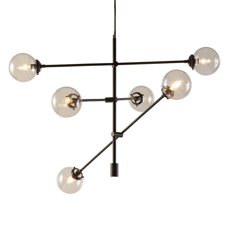 Bensley Antique 6-Light Chandelier