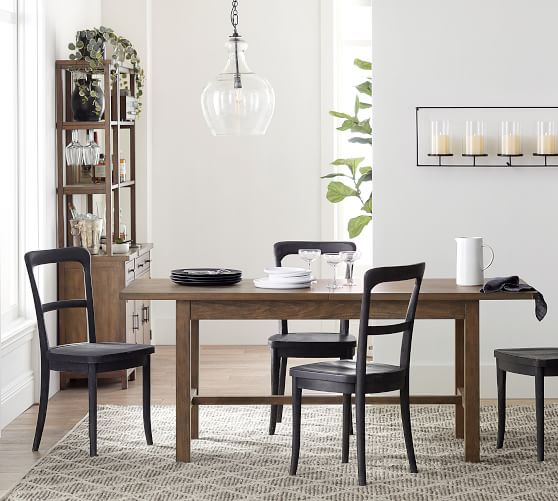 Cline Dining Chair, Charcoal