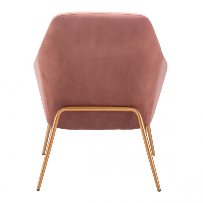 Lillianna Chair, Pink Velvet