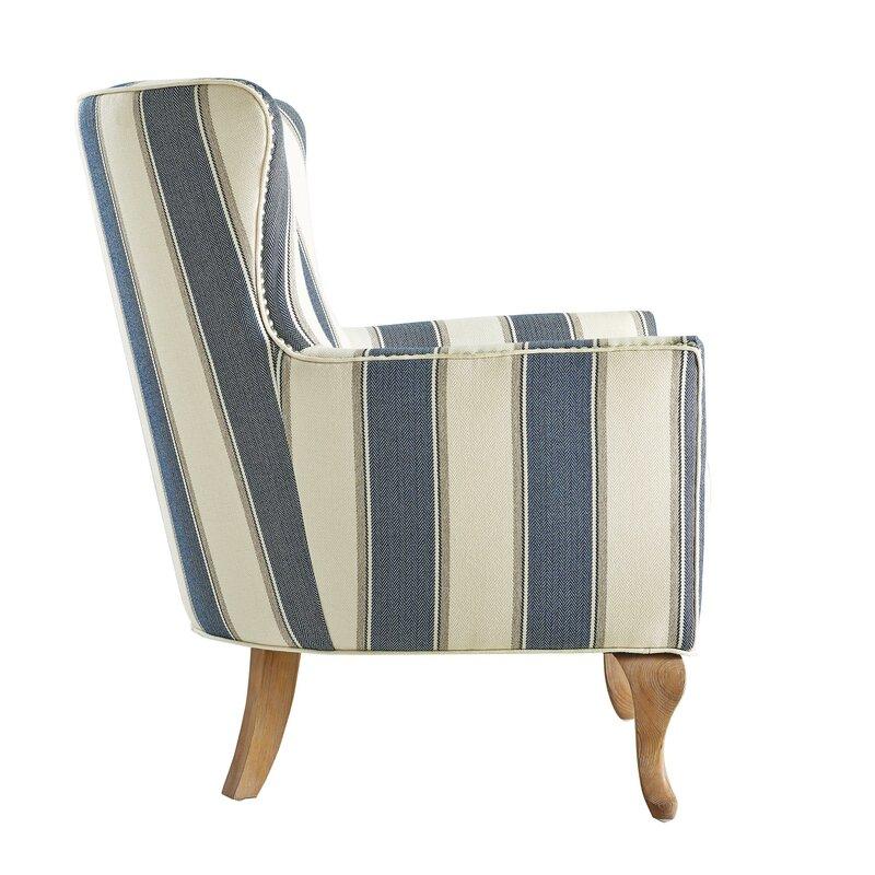 Zubair Wingback Armchair