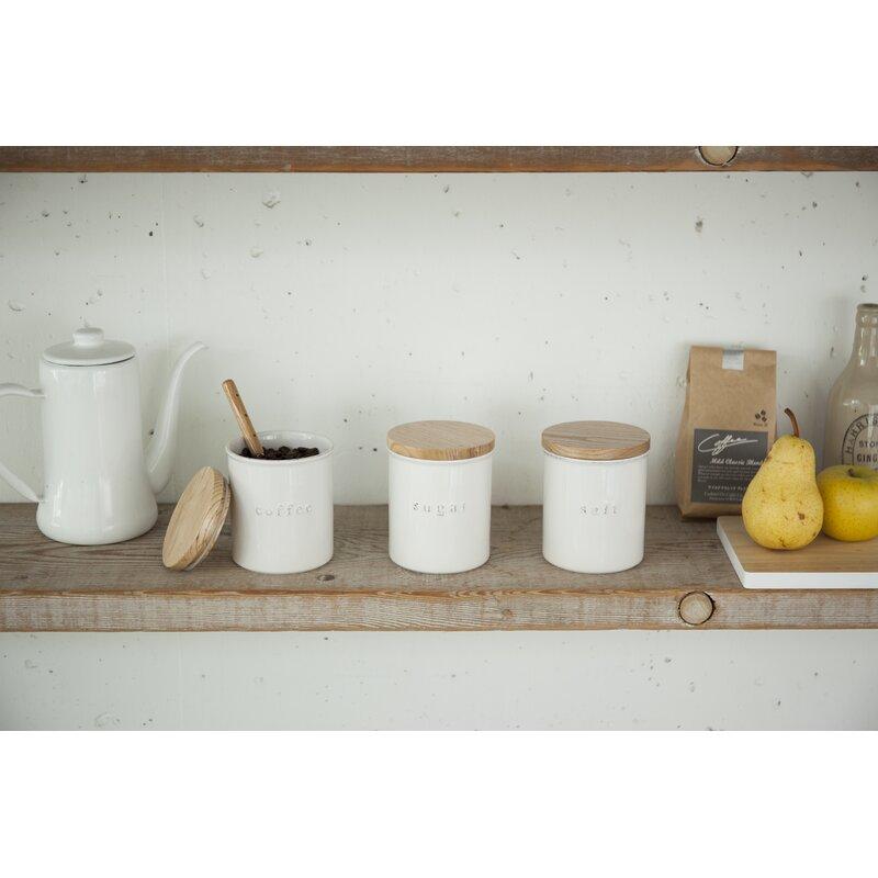 Tosca Sugar 1.08 qt. Kitchen Canister