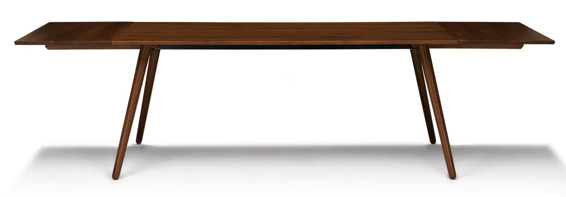 Seno Walnut Dining Table, Extendable