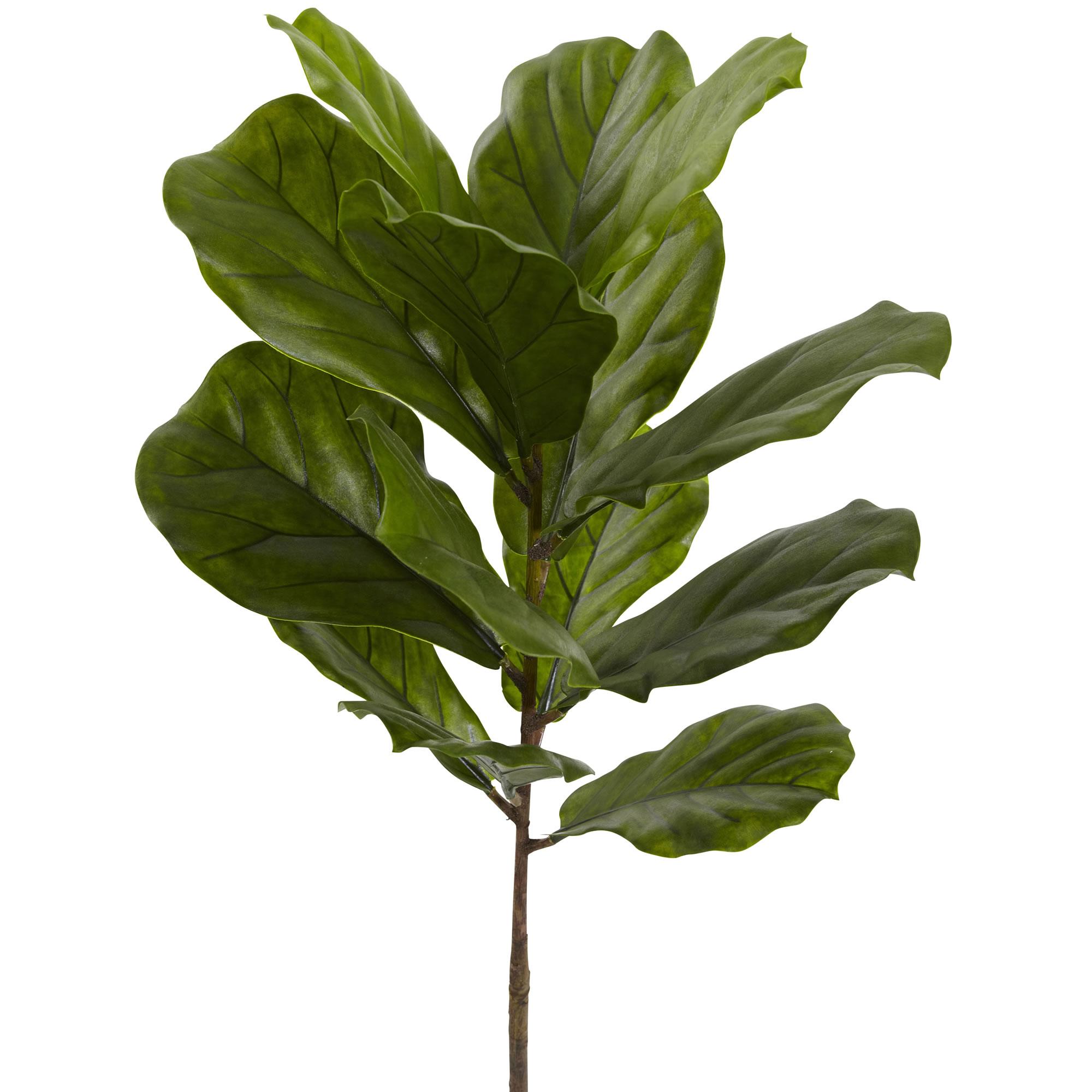 Faux Fiddle Leaf Tree, 4ft