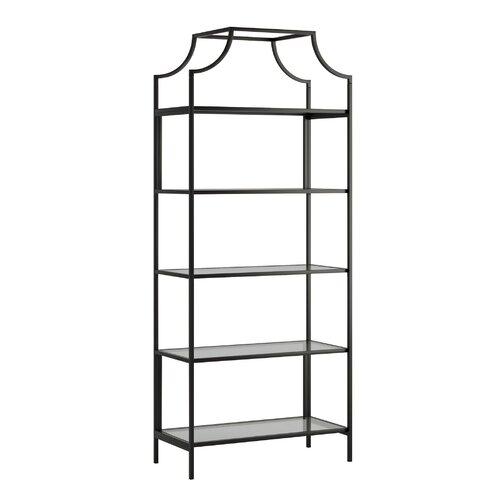 Rapp 70.87'' H x 30'' W Metal Etagere Bookcase