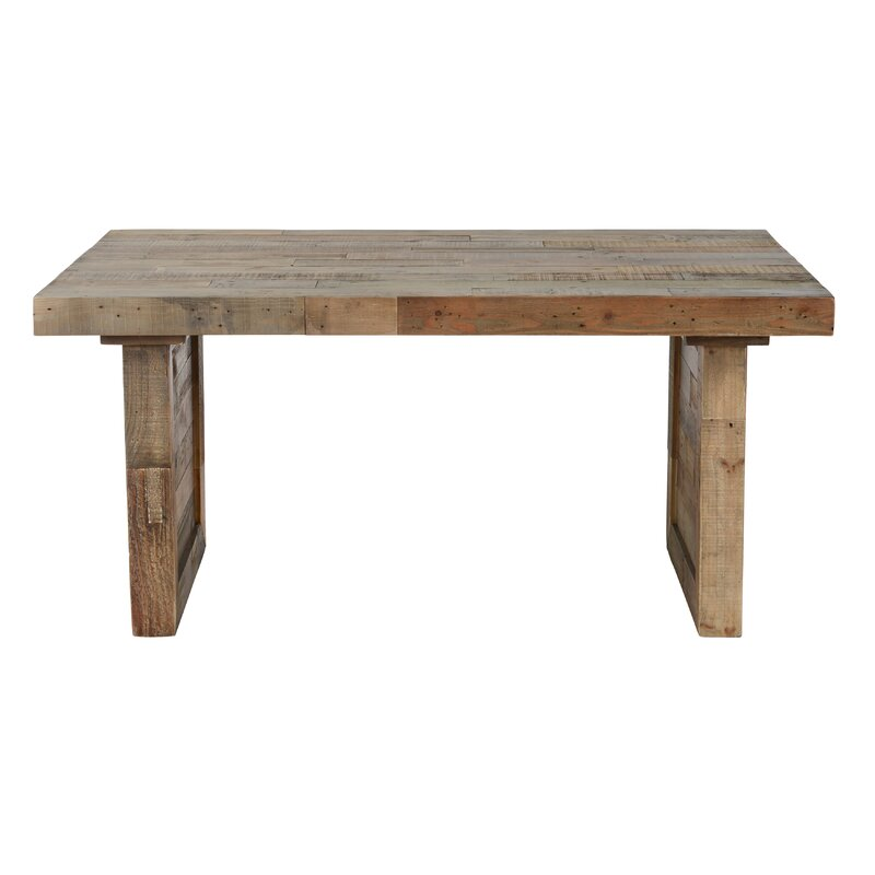Triston Extendable Solid Wood Dining Table