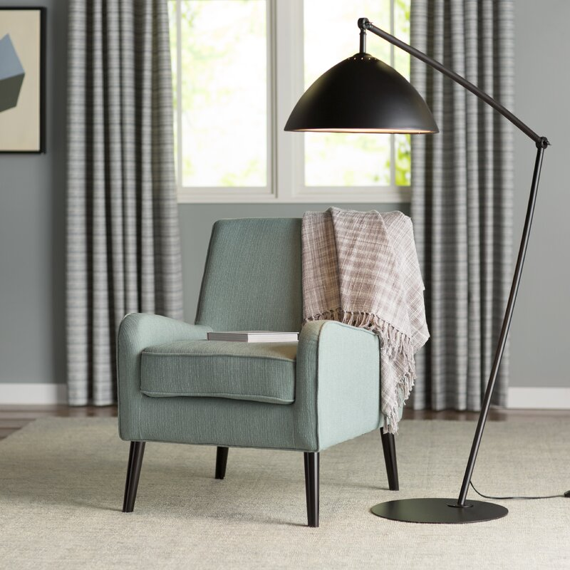 "Reitveld Adjustable 83"" Task/Reading Floor Lamp"
