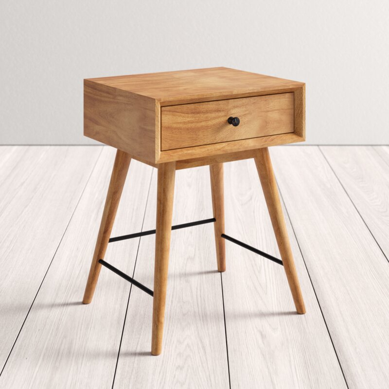 Mayer End Table with Storage