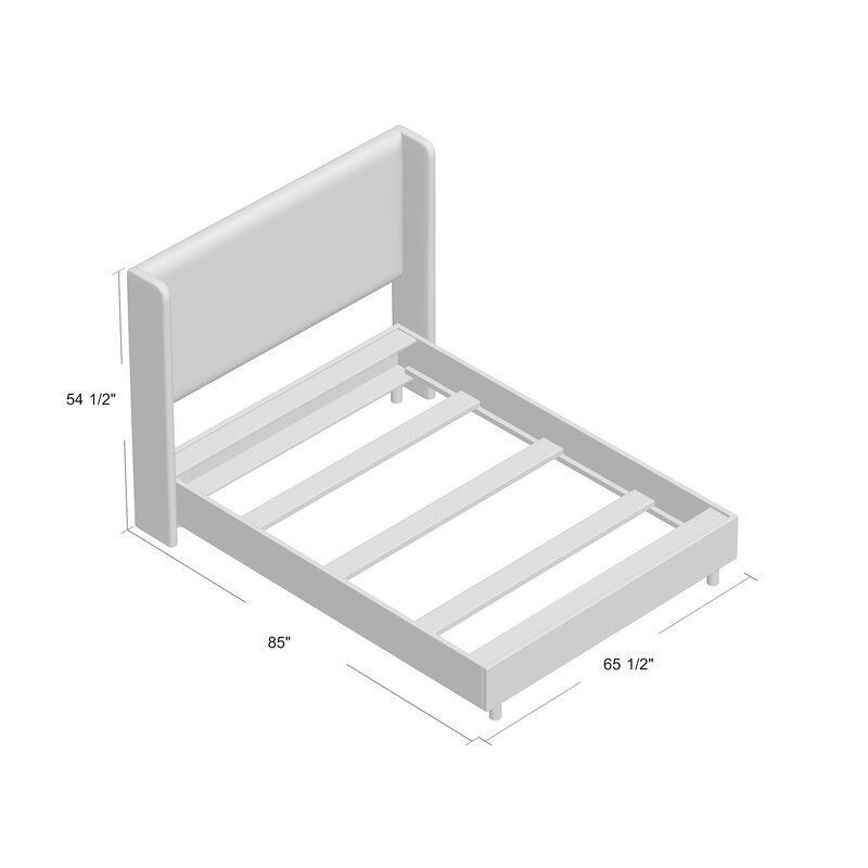 Stella Upholstered Panel Bed