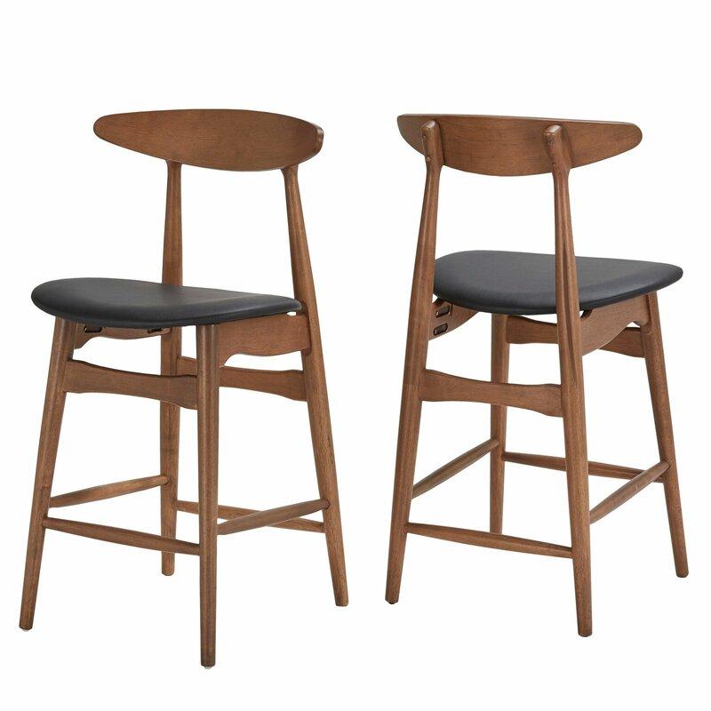 "Kole 24.21"" Bar Stool - set of 2"