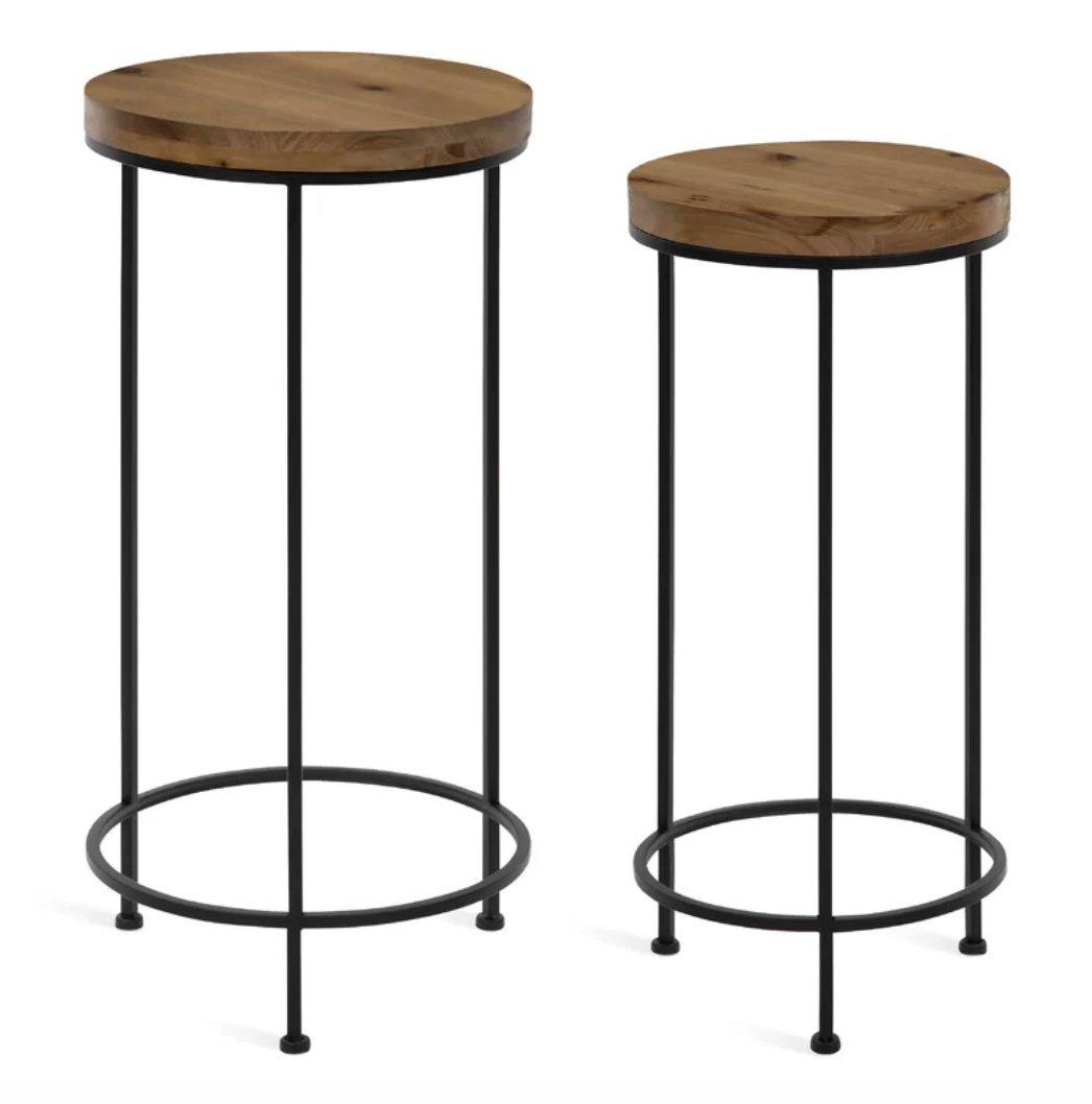 Millenial 2 Piece Nesting Tables