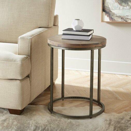 Circular End Table