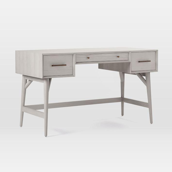Mid-Century Desk, Pebble