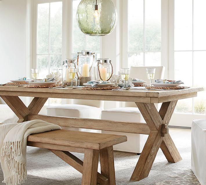 Toscana Extending Dining Table, Large, Seadrift