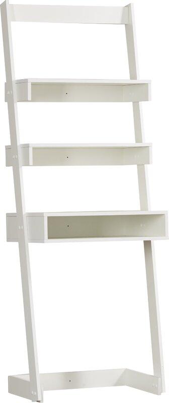 Hayley Leaning/Ladder Desk, White