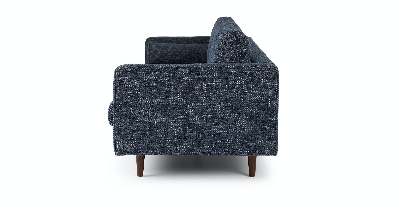 Sven Neptune Blue Sofa
