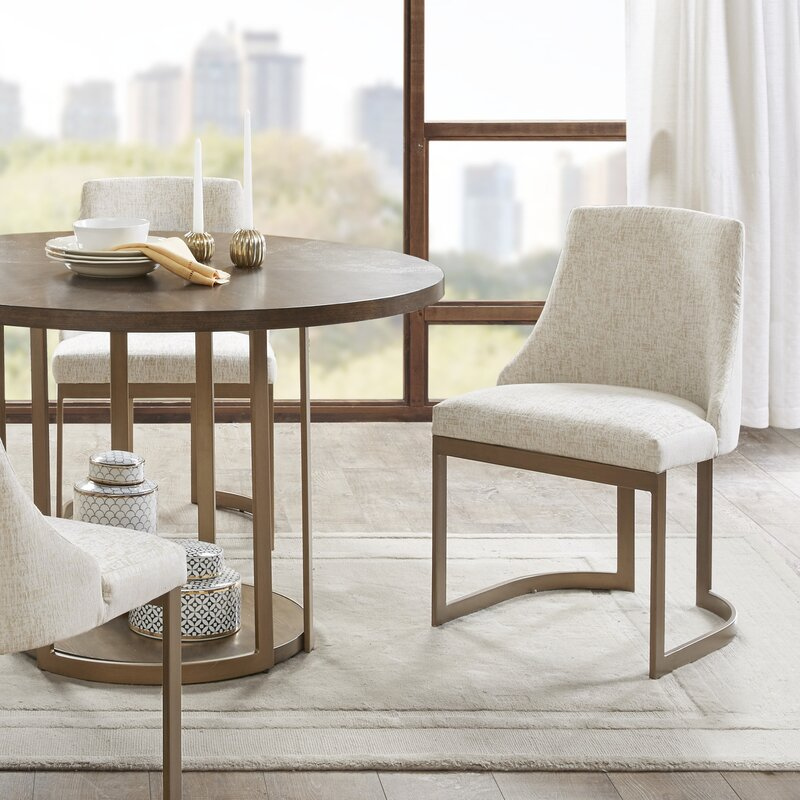 Faunsdale Upholstered Dining Chair / Set of 2
