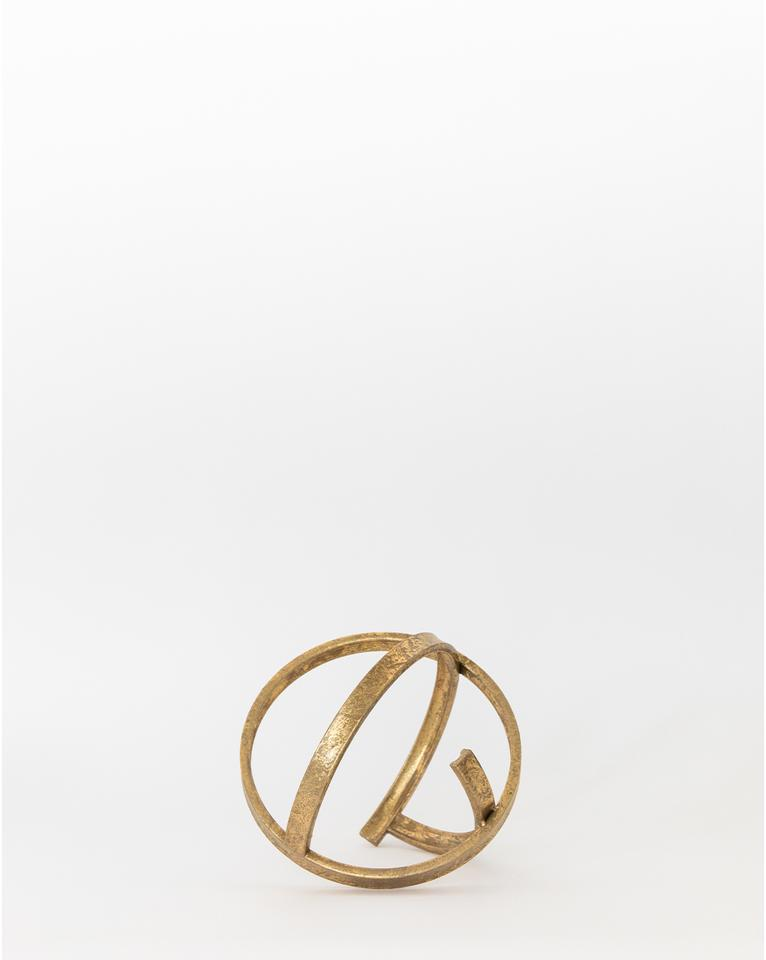 BRASS RINGS OBJECT - Large