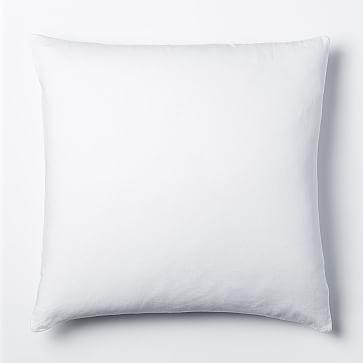 Belgian Flax Linen Duvet Cover, King/Cal. King, White