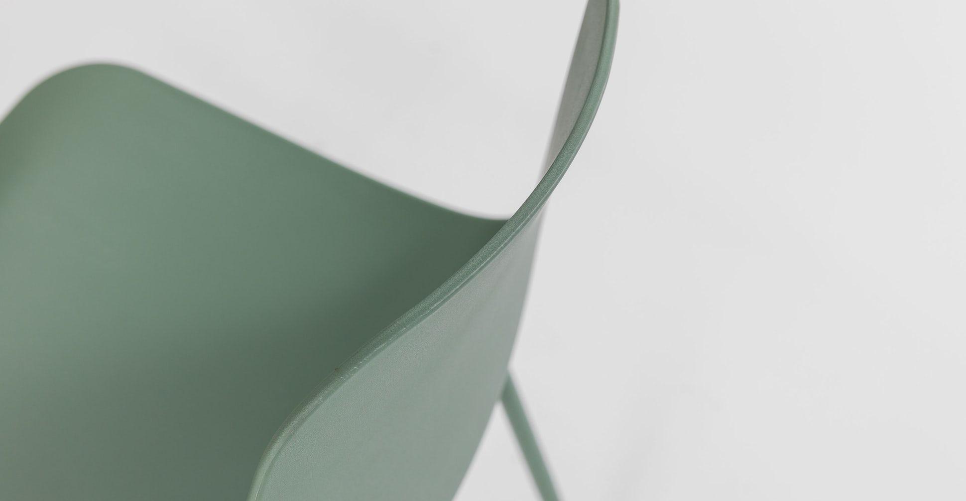 Svelti Aloe Green Dining Chair -Pair (set of 2)