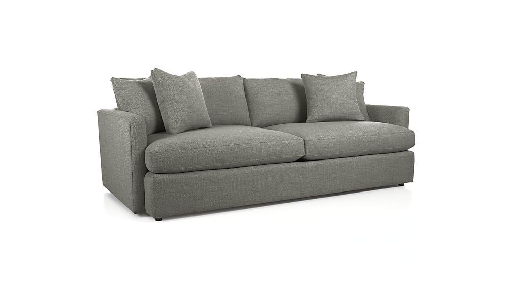 "Lounge II 93"" Sofa - Grey"