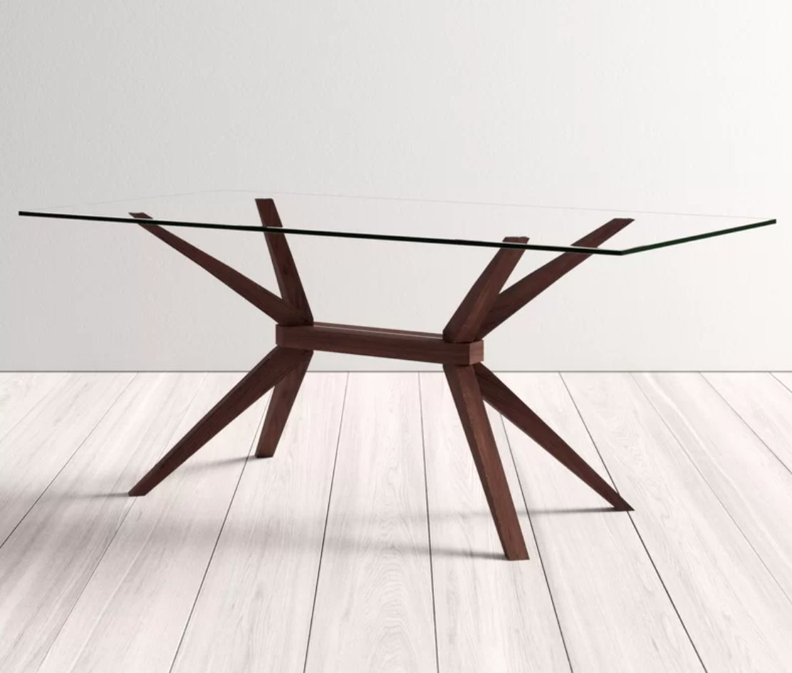 Lana Solid Wood Dining Table