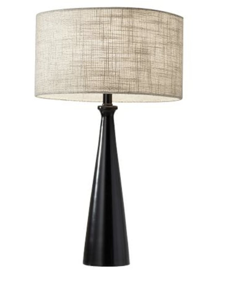 Barclay Table Lamp, Black