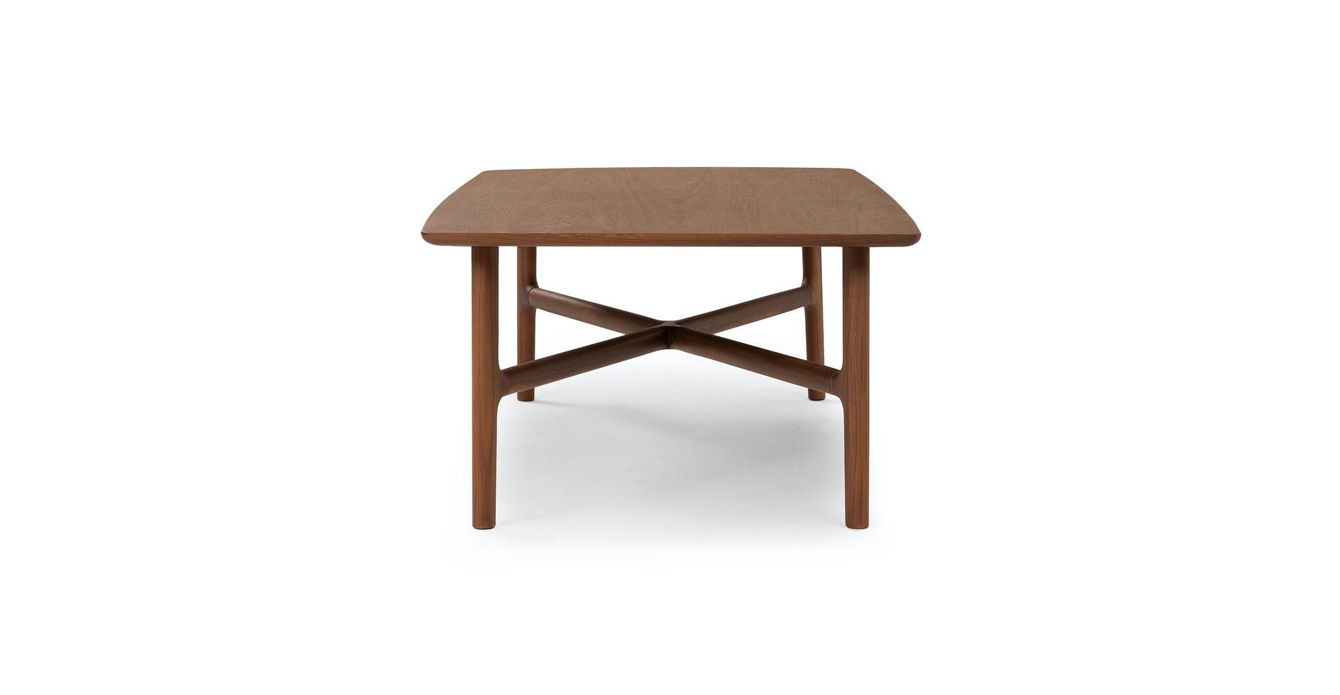 Brezza Matte Walnut Coffee Table