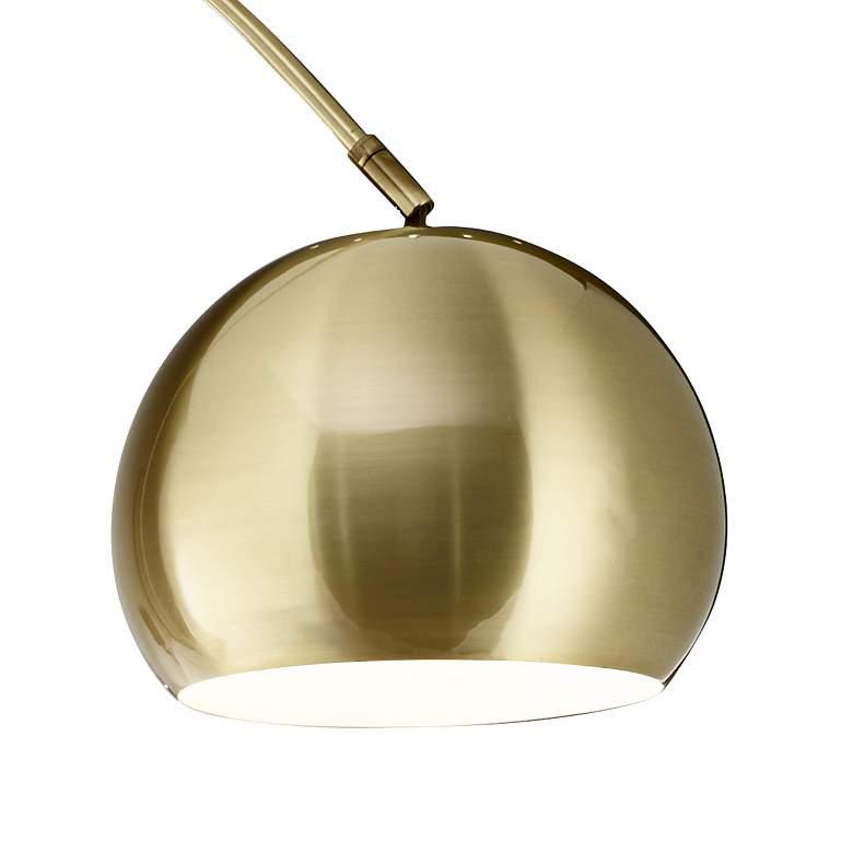 Basque Arc Floor Lamp gold