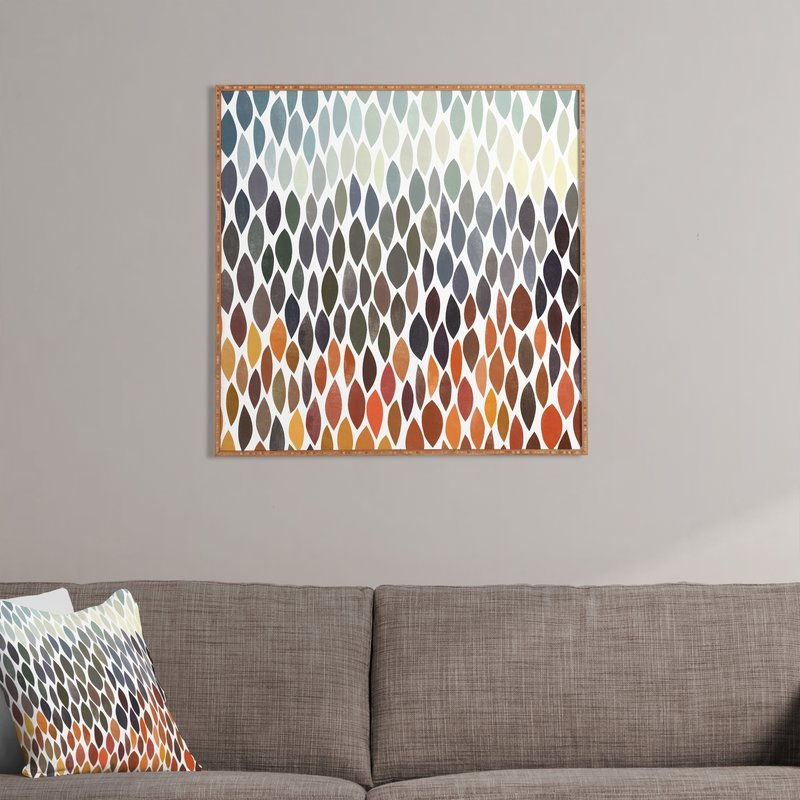 Connections 5 by Garima Dhawan - Picture Frame Graphic Art Print on Wood