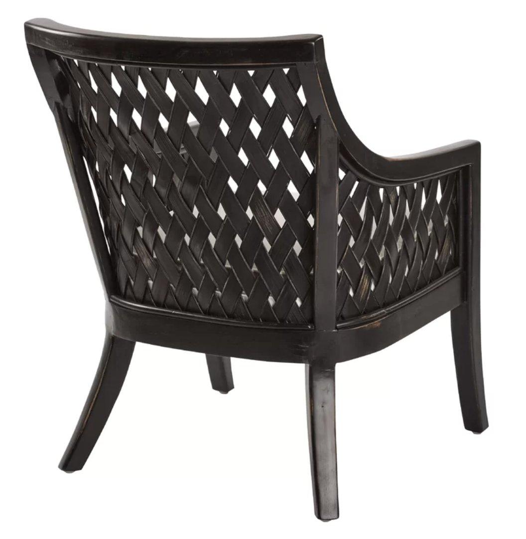 """Wenzel 25.25"""" Wide Cotton Armchair"""