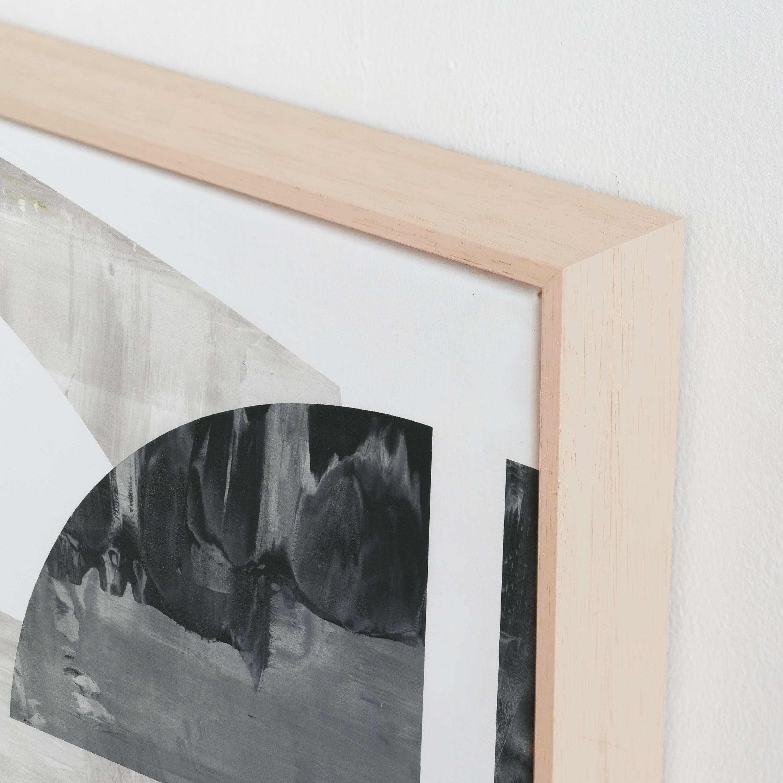 Indian Sundial Art Print- Premium Ash Wood Canvas Frame