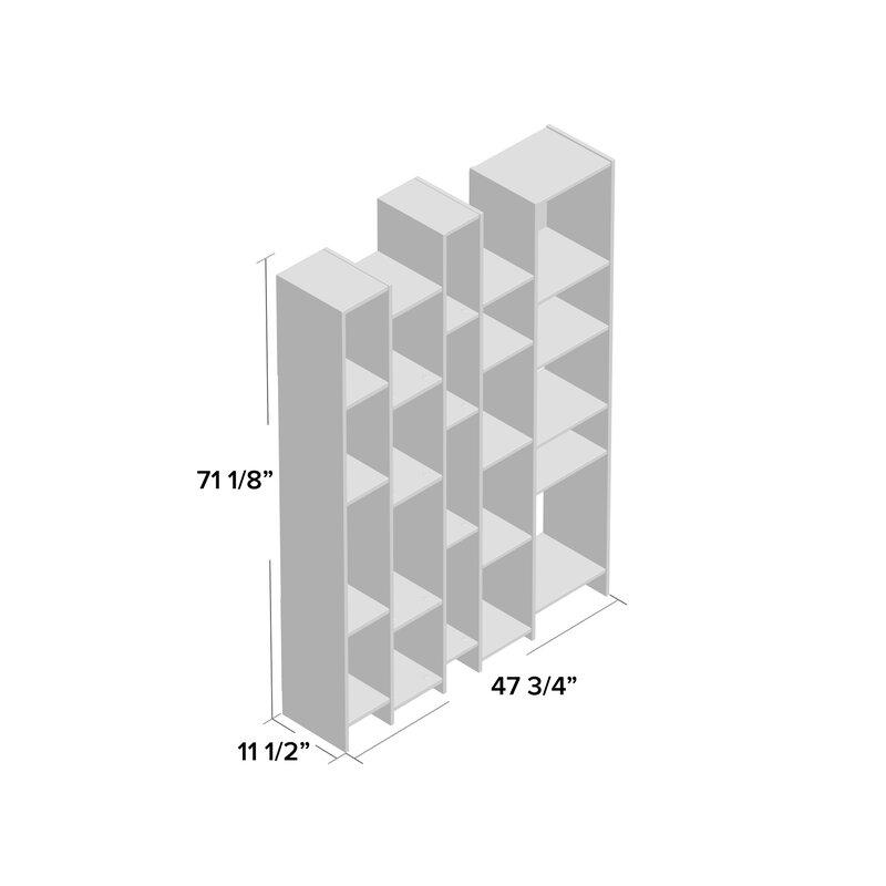 Viper Geometric Bookcase