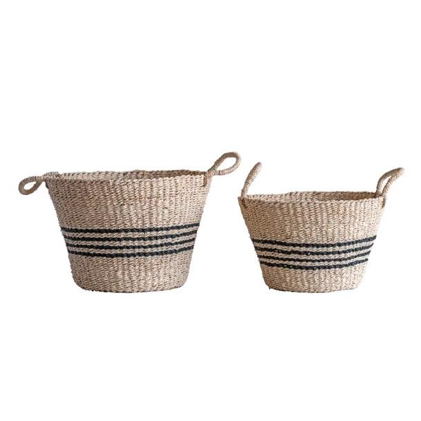 Chatham Striped Baskets, Set of 2