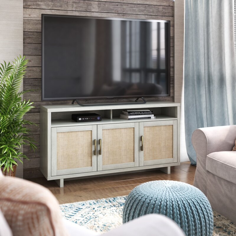 Robledo TV Stand for TVs up to 60- FAIRFAX OAK