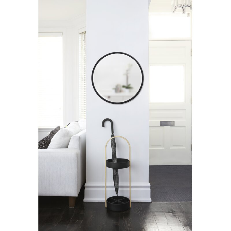 """Hub 37"""" Modern and Contemporary Accent Mirror"""