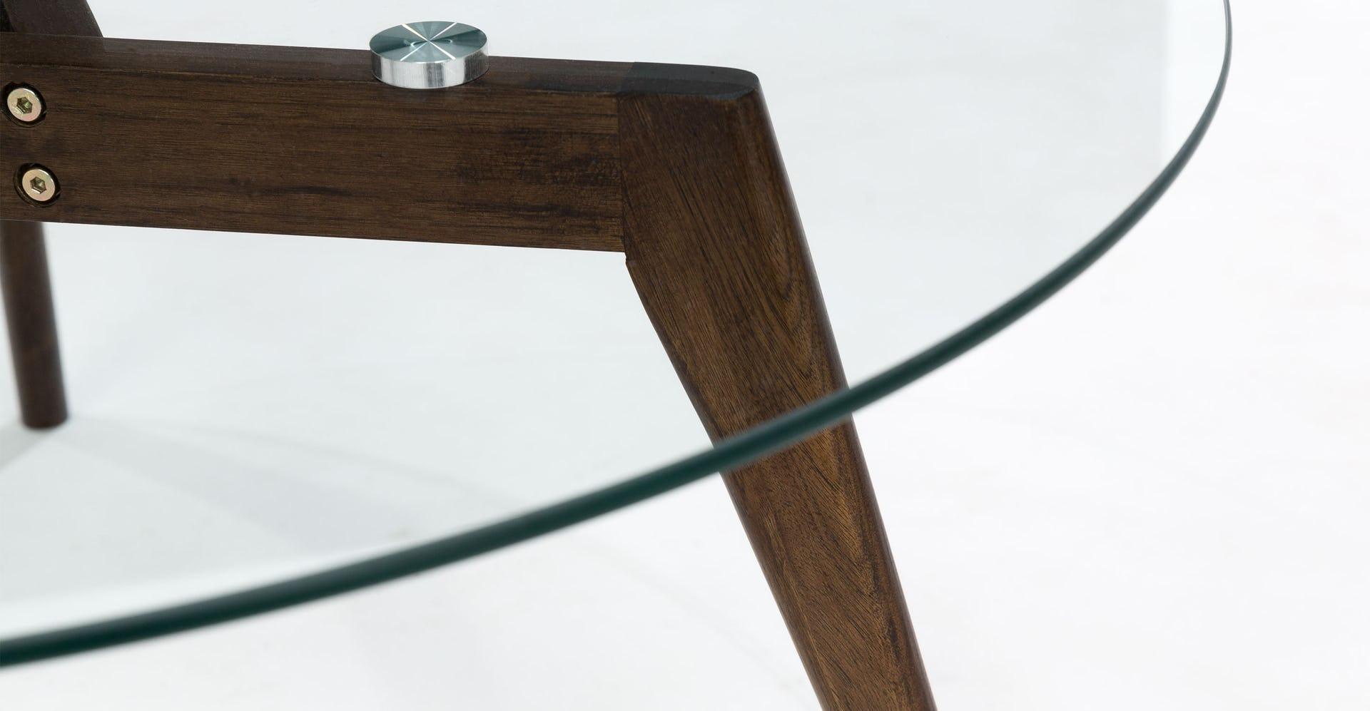 Clarus Walnut Coffee Table