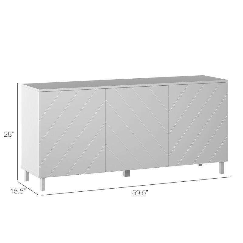 """Myndi 60"""" Wide Sideboard"""