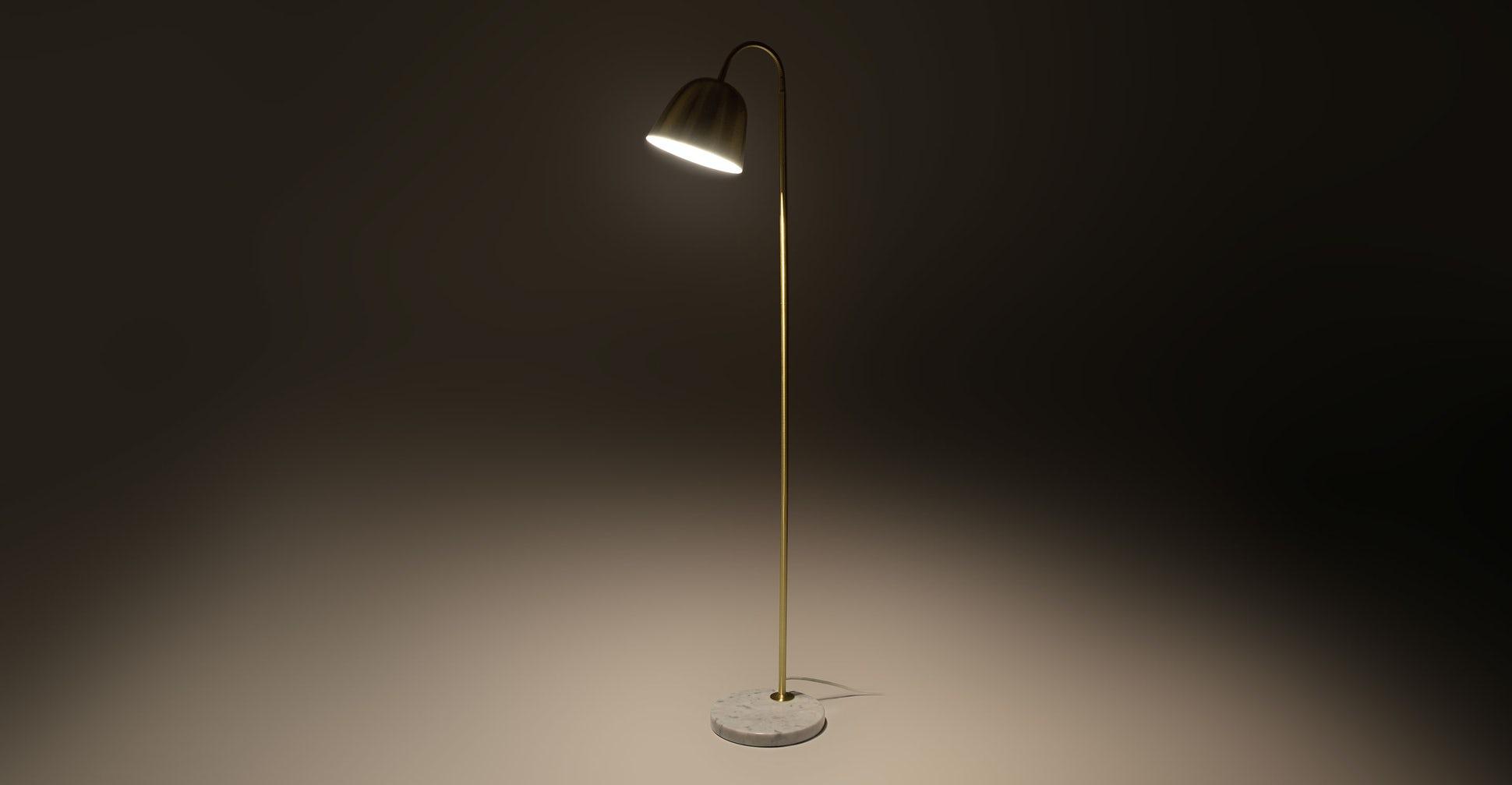 Lissom Brass Floor Lamp