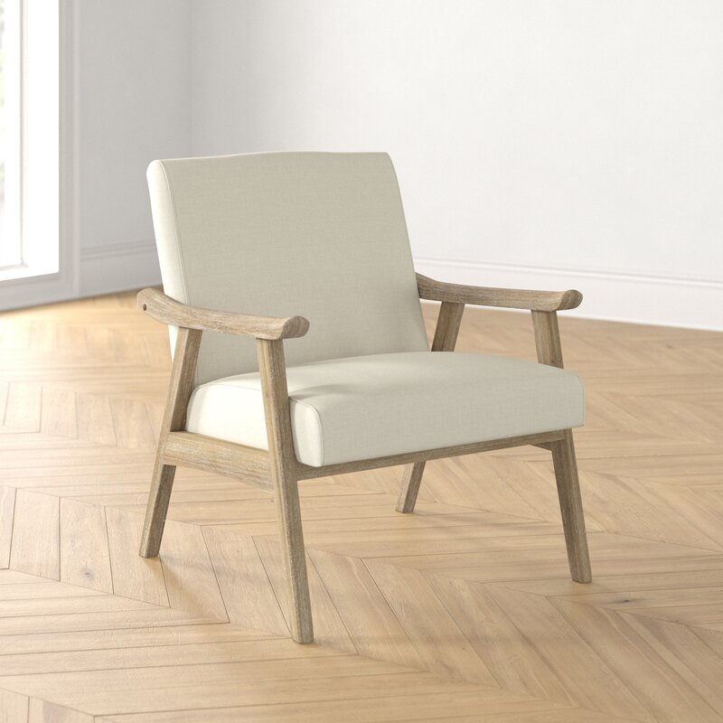 Kayla Lounge Chair -  Linen