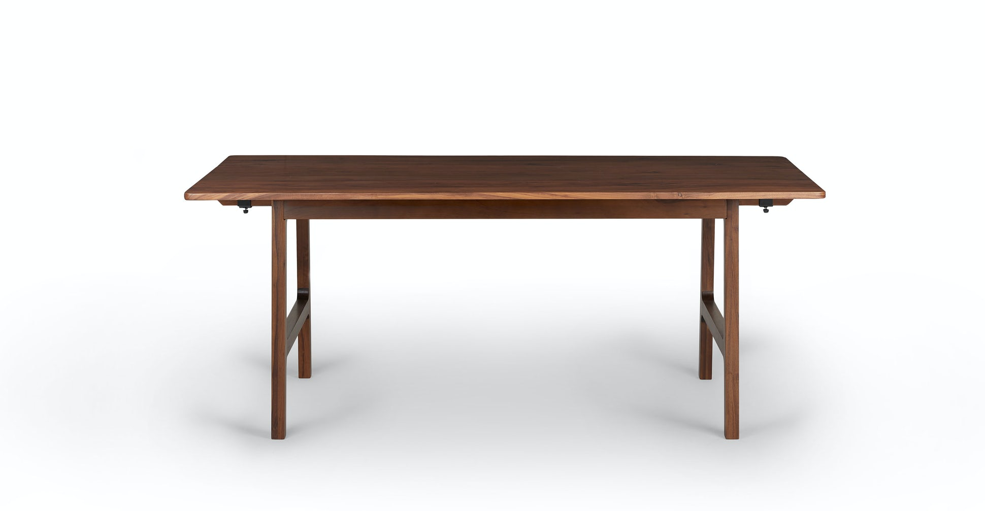 Kirun Walnut Dining Table, Extendable