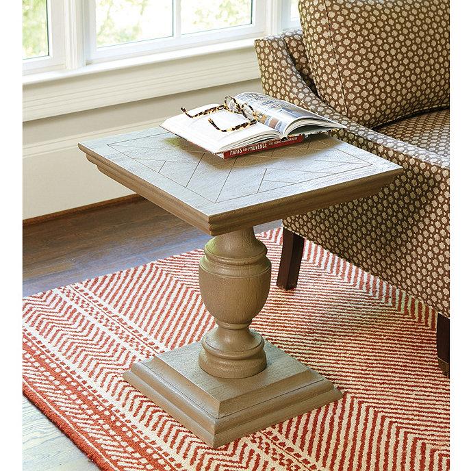 Ballard Designs Andrews Pedestal Accent Table