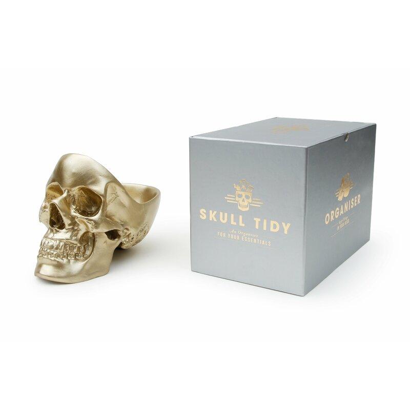 Skull Tidy Bust